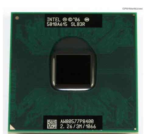 Мобильный процессор Intel Core 2 duo P8400