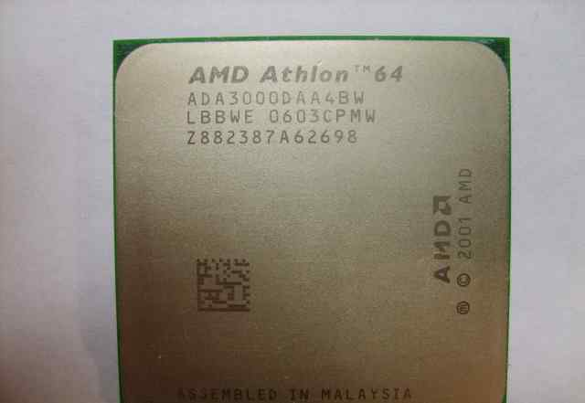 AMD Athlon 64 3000+ socket 939