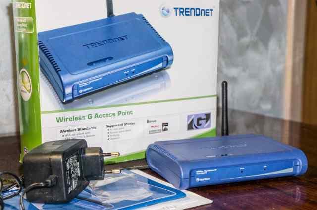 Точка доступа trendnet TEW-430APB