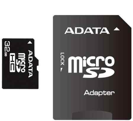 карту памяти microSD 32gb