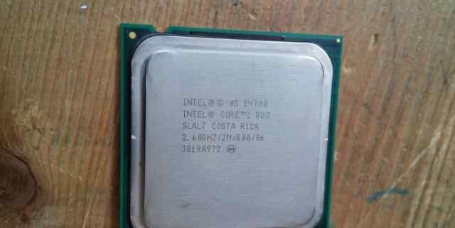 Процессор intel core 2 duo e4700