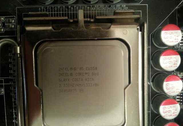 Процессор Intel E6550