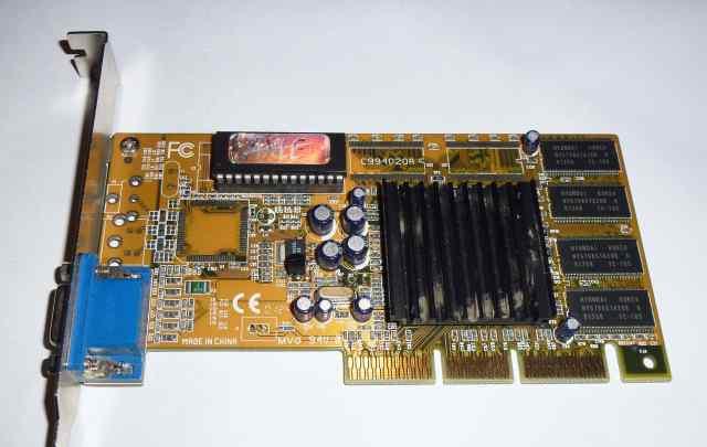 Видеокарта nVidia TNT2 Pro 32 Mb AGP