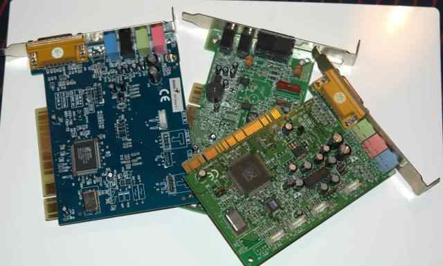 3 карты PCI