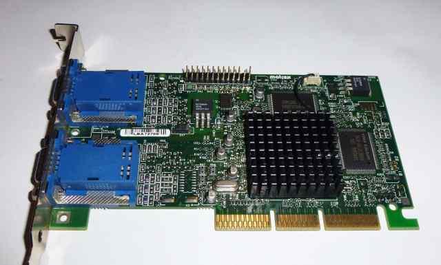 Видеокарта Matrox G45+ 16 Mb AGP 2VGA
