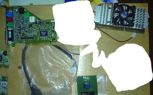 Модемы, звуковая карта, процессоры, 1394 планка
