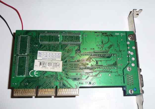 Видеокарта S3 Savage 4 32Mb AGP