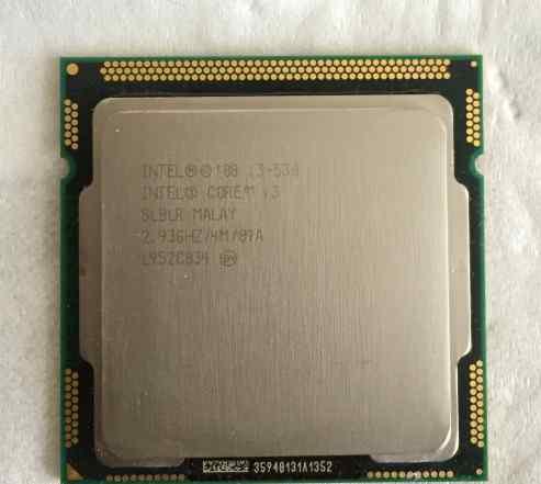 Процессор Intel Core i3-530