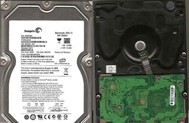 жесткий диск Seagate ST3500320AS 500 Gb