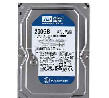 Новый HDD 250гб, Western Digital Caviar Blue