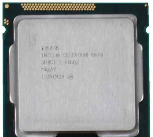 Intel celeron G470 Новый на гарантии