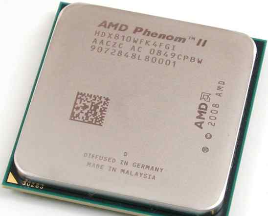 AMD Phenom II X4 810 (AM3, L3 4096Kb, 95w) OEM