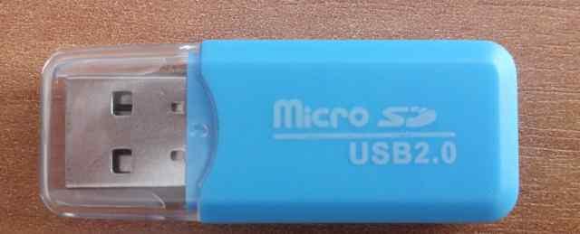 Переходник micro SD to USB 2.0