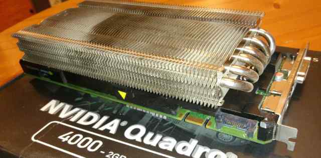 NVidia Quadro 4000 с пассивным охлаждением