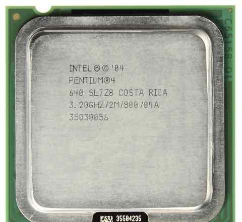 Процессор Intel Pentium (R) 2.8 Ггц