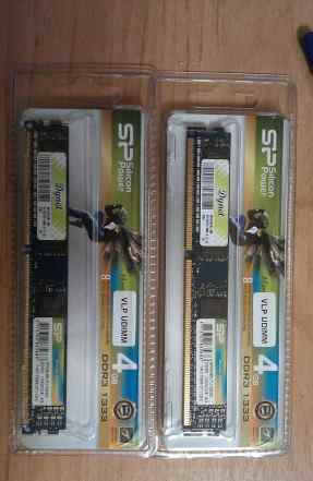 Silicon Power SP004gbvtu133N02 4Gb DDR3 1333 (2шт)