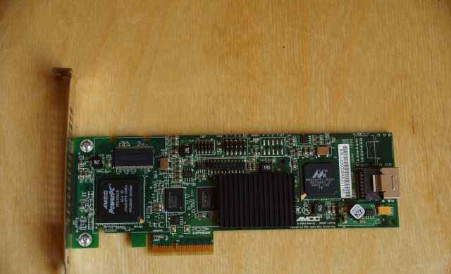 3ware 9650SE-4lpml PCI-E 4 порта SATA, raid 1/5/10