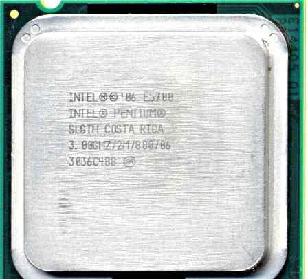 Процессор CPU Pentium 3.0 GHz E5700