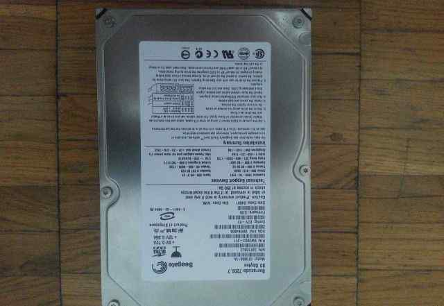 Жесткий диск 80GB Seagate Barracuda 7200.7