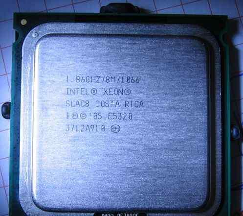 Процессор Intel Xeon E5320