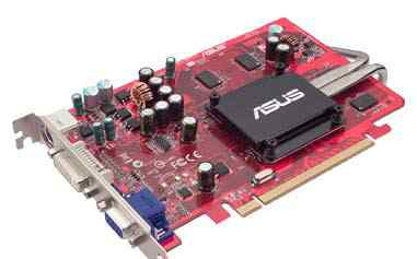 Видеокарта Asus Radeon X1600Pro 500Mhz PCI-E 256Mb