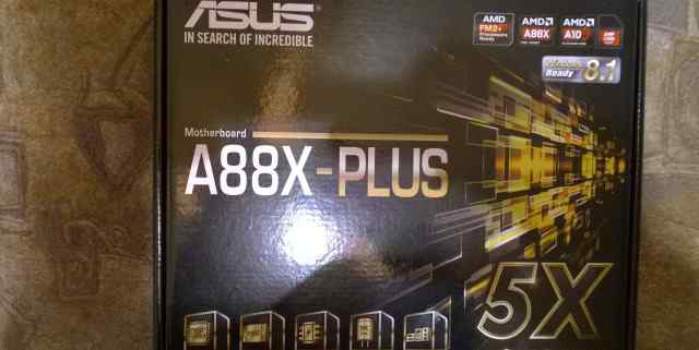 Мат. плата asus A88X-plus SFM2+