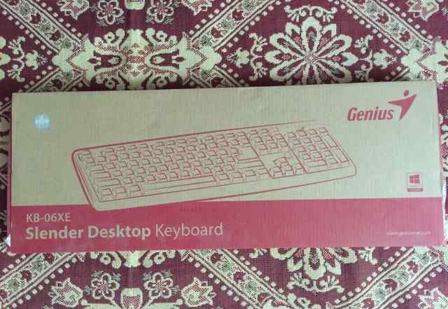 Клавиатура genius usb новая