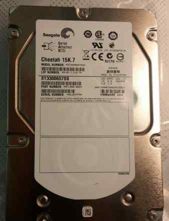 Жесткий диск Seagate Cheetah 15K.7 ST3300657SS
