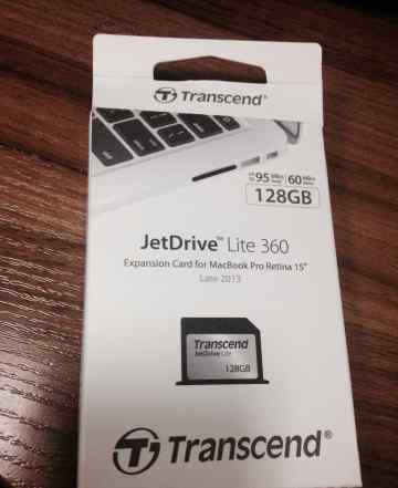 Карта памяти JetDrive Lite 360 128Gb для macbook
