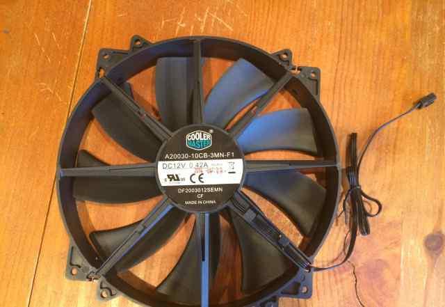 CoolerMaster Вентилятор д/корпуса 200x200 новый