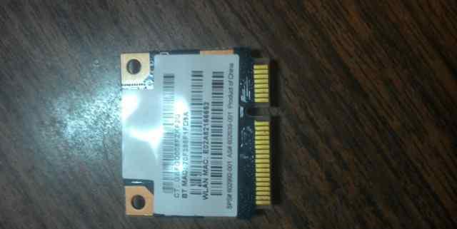 Модуль wifi для hp g62