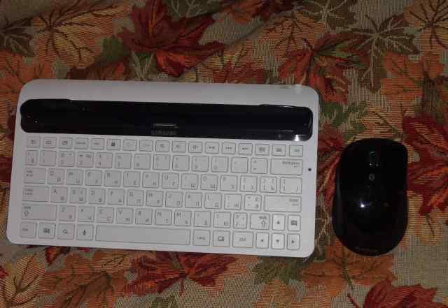 Беспроводная клавиатуру и мышь к планшету Samsung
