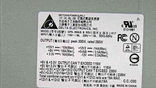 Новые блоки питания ATX 300W 2x SATA