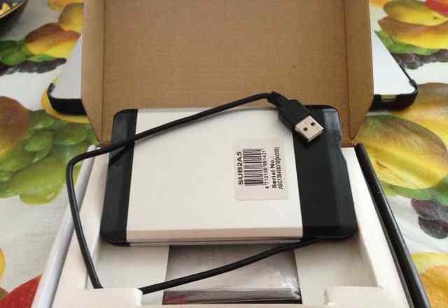 Жесткий диск для ноутбука Seagate1Тб плюс корпус