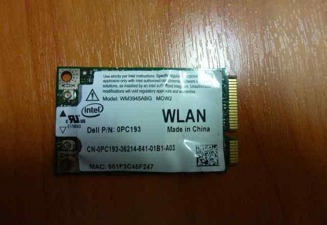 Модуль Wifi для ноутбука Mini pci