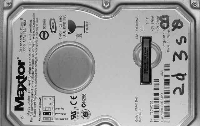 Жесткий диск HDD Винчестер 80GB DiamondMax Plus 9