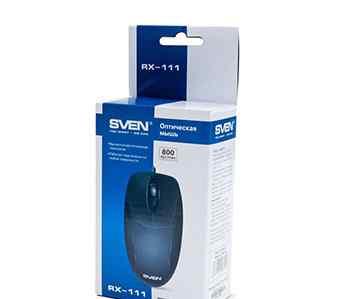 Мышь sven RX-111 с круглым USB