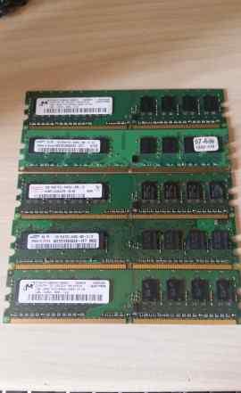 Оперативная память пк DDR2 5x1gb
