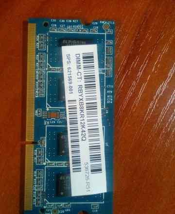 Ramaxel 2Gb DDR3 SO-dimm PC3-10600