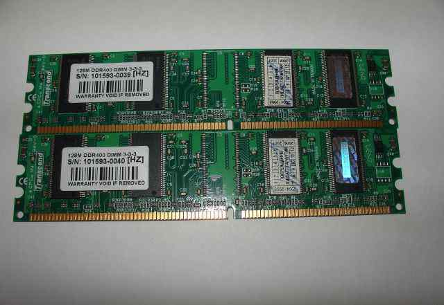 Память Transcend 128MB DDR400 dimm 3-3-3