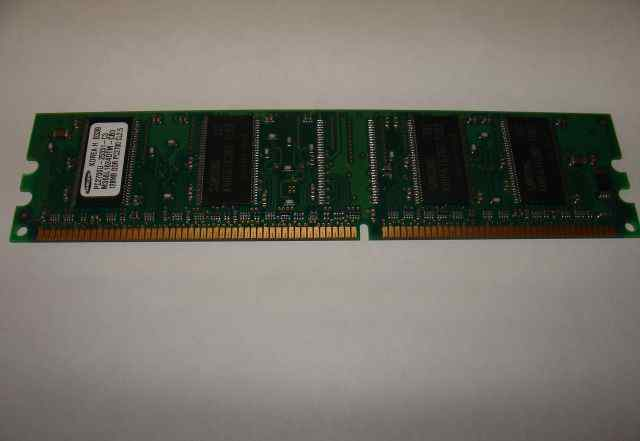 Модуль Samsung 128Mb DDR PC-2700U-25331-C3 (333Hz)