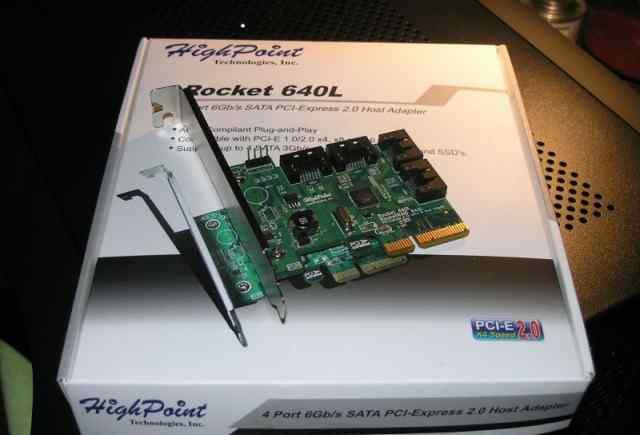 Контроллер HighPoint RocketRaid 640L, SATA 6 Gb/s