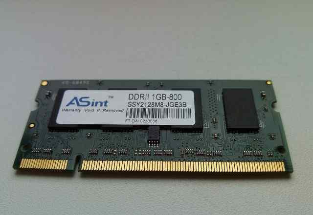 DDR2 1Гб - 800 ASint (SSY2128M8-JGE3B)