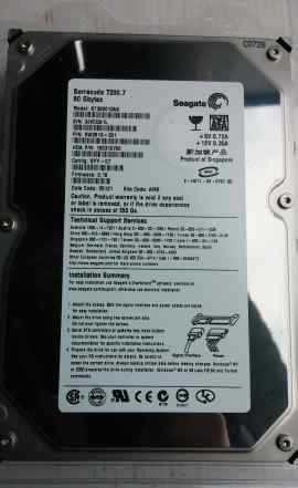 80Gb HDD Seagate Barracuda 7200.7 ST380013AS 3.5