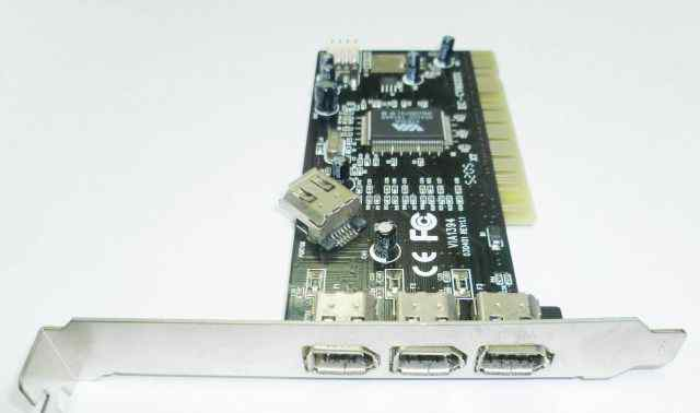 Контроллер PCI ieee1394, 4-х порт (3+ 1) EC-CV6033