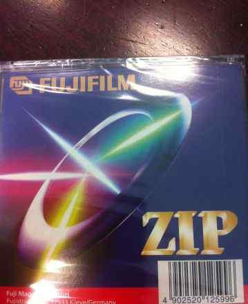 ZIP диски Fujifilm 100 mb запечатанные