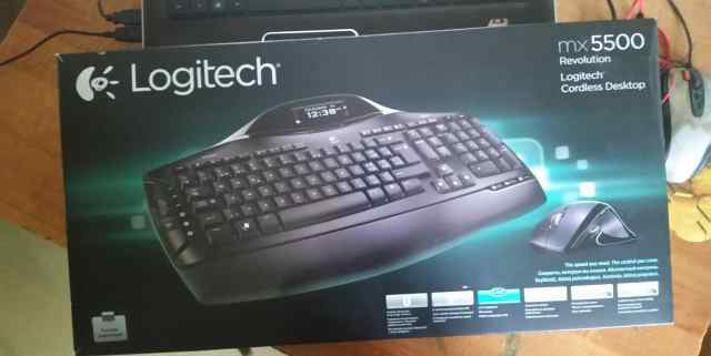 Logitech cordless desktop mx5500 Revolutions