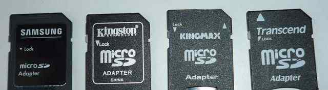 Адаптер micro-SD на обычную SD