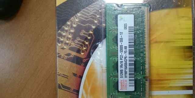 Hynix pc2-5300 SO-dimm память до ноутбука 512 мб