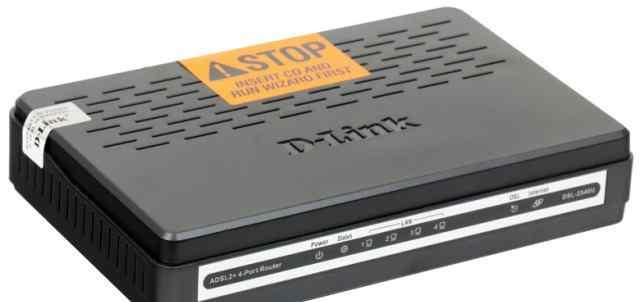 Внешний adsl-модем (роутер) D-Link DSL-2540U/BRU/T